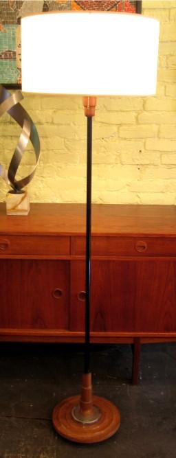 1940s Decco Style Floor Lamp
