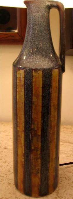 1950s Danish Ceramic Table Lamp