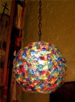 1960s Confetti Ball Lamp