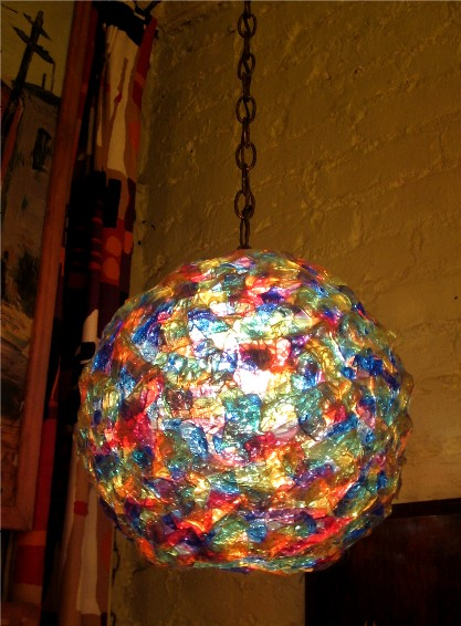 1960s Confetti Ball Lamp