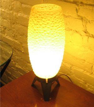 1960's Plastic Table Lamp