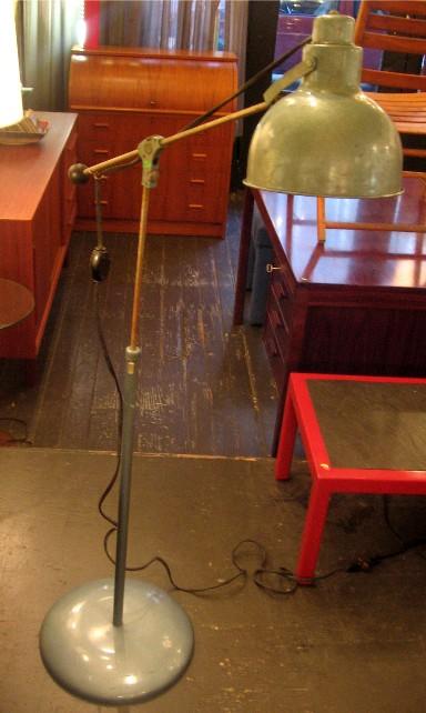 1950s Industrial Floor Lamp