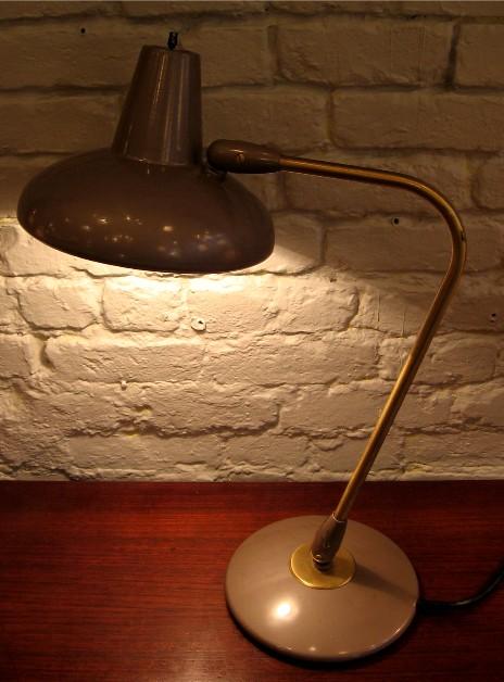 1950s Articulating Metal Industrial Lamp