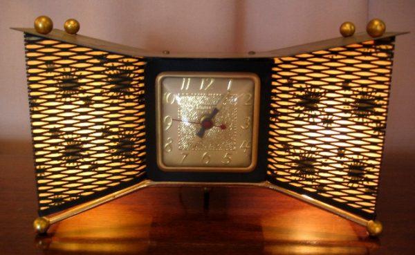 1950s Lighted Clock