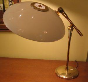 1950s Saucer Task Lamp