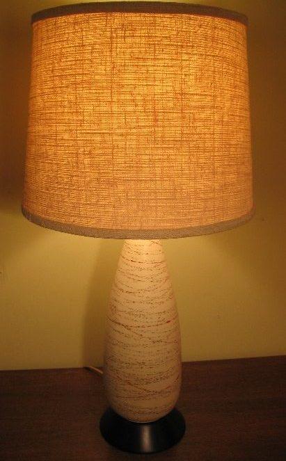 1960's Ceramic Table Lamp