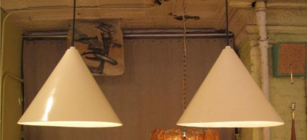 Aluminum Billiard Pendants Attr. Arne Jacobson