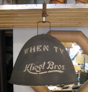 1950s Kliegl Lamp from WHEN TV