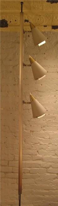 Gerald Thurston Lightolier Tension Lamp