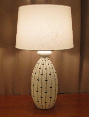 1950s Italian Ceramic Lamp by Fratelli Fanciullacci