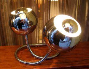 1960's Italian Flexible Table Lamp by Reggiani