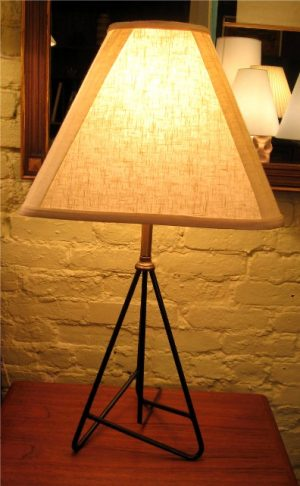 1950's Bent Rod Table Lamp
