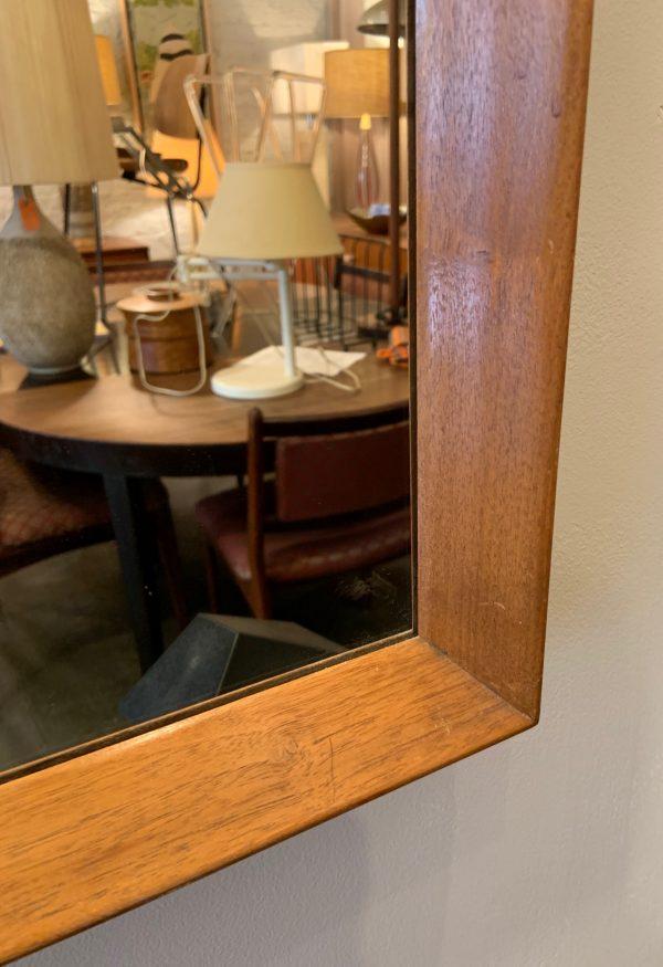 Walnut Framed Mirror