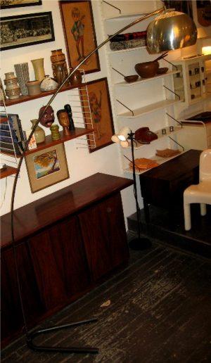 1970s Small Arc Lamp