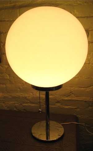 1970s French Ball Lamp