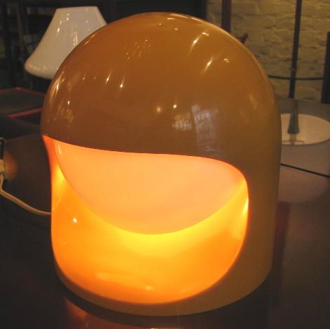 1970s Lightolier Interplay 2 Lamp