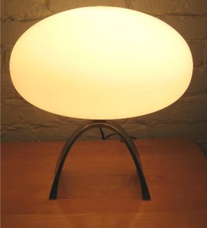 Arched Base Laurel Mushroom Table Lamp