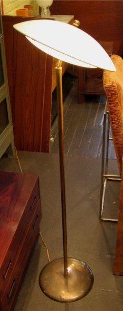 Articulating Saucer Floor Lamp Attr. Gerald Thuston