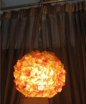 1970s Pop Rocks Pendant Lamp
