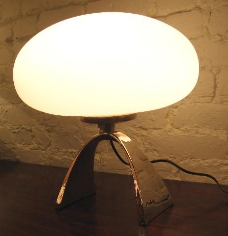 Arch Base Mushroom Lamp by Laurel