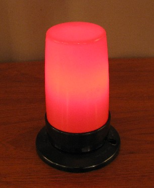 Bakelite Exit Lamp from England