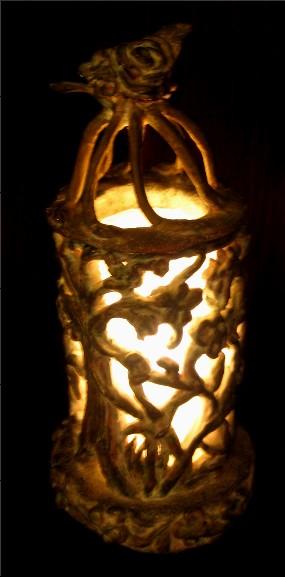 Arlene Lamb Ceramic Lamp