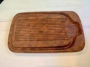 Teak Carving Board by Digsmed