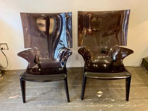 Philippe Starck Uncle Jim Wing Back Chairs for Kartell