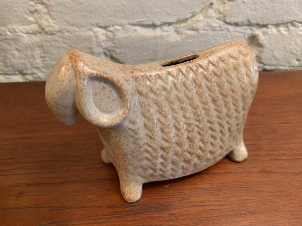 Bennington Pottery Sheep Bank