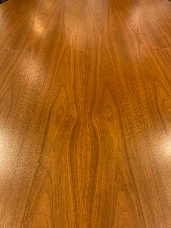 Florence Knoll Walnut Dining / Conference Table, Large Version
