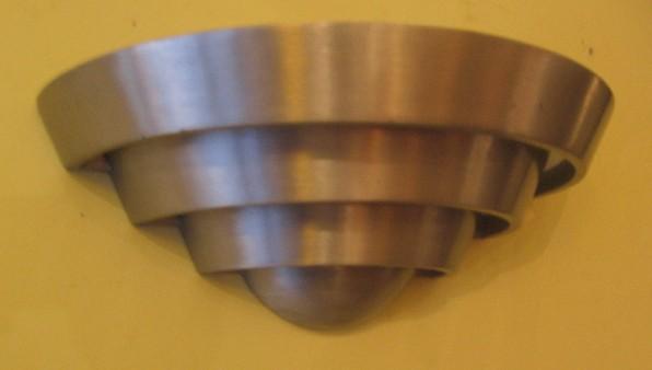 Cast Aluminum Deco Wall Sconces