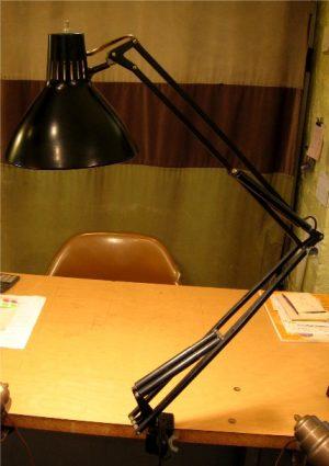 Black Luxo Lamp