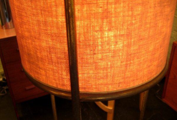 Brass Floor Lamp by Gibbings for Hansen