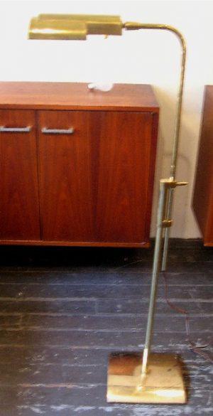 Brass Floor Lamp by Stiffel