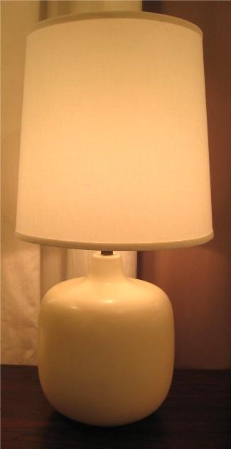 Bostlund White Ceramic Table Lamp