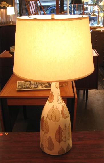 Ceramic Table Lamp from Denmark