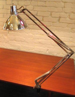 Chrome Luxo Articulating Lamp