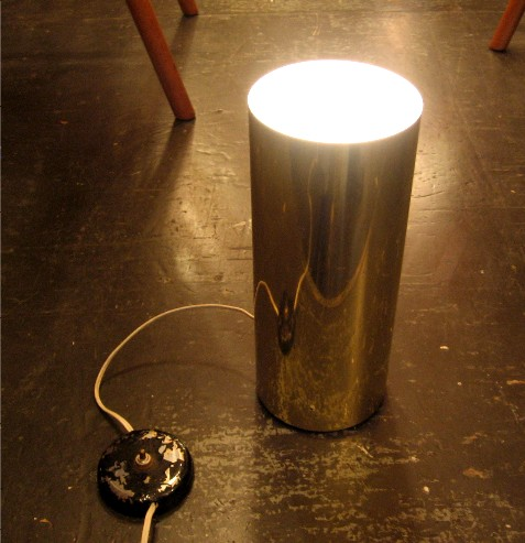 Cylindrical Occasional Floor Lamp