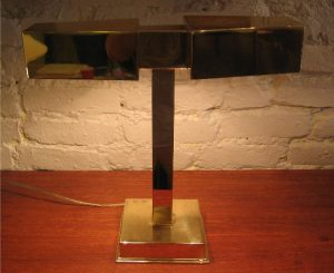 Bankers Style Two Head Task Lamp by Laurel