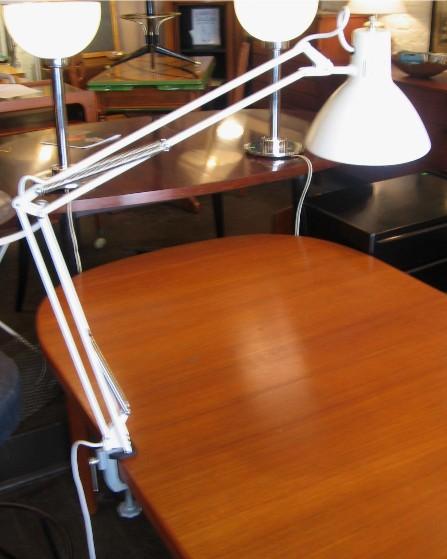 Cream Colored Luxo Lamp