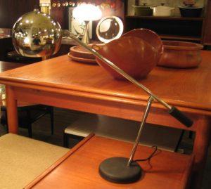 Cantilevered Chrome Task Lamp attr. Robert Sonneman