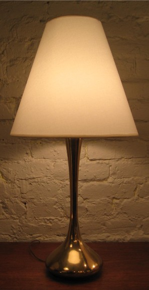 Brass Genie Style Table Lamp by Laurel
