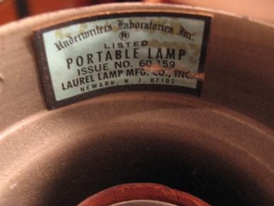 Brass Swing Arm Table Lamp by Laurel