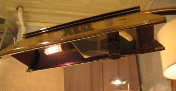 Casella Lighting Adjustable Floor Lamp in Polished Brass