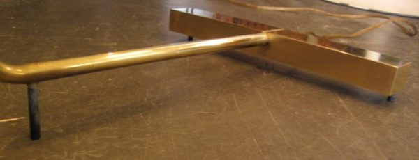 Cedric Hartman Fully Adjustable Brass Floor Lamp