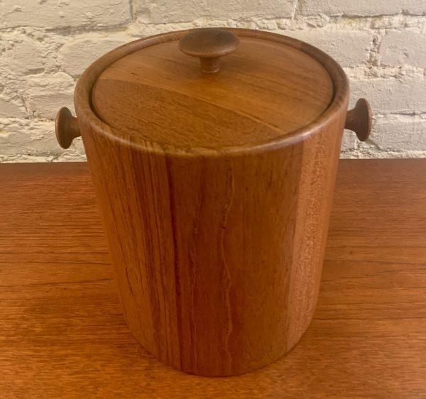 Teak Ice Bucket by Digsmed Denmark
