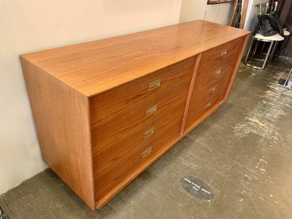 1970s Danish Modern Teak Double Dresser